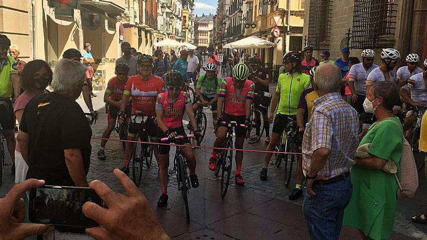 La Penya Ciclista Bonavista va participar en la Marxa Republicana