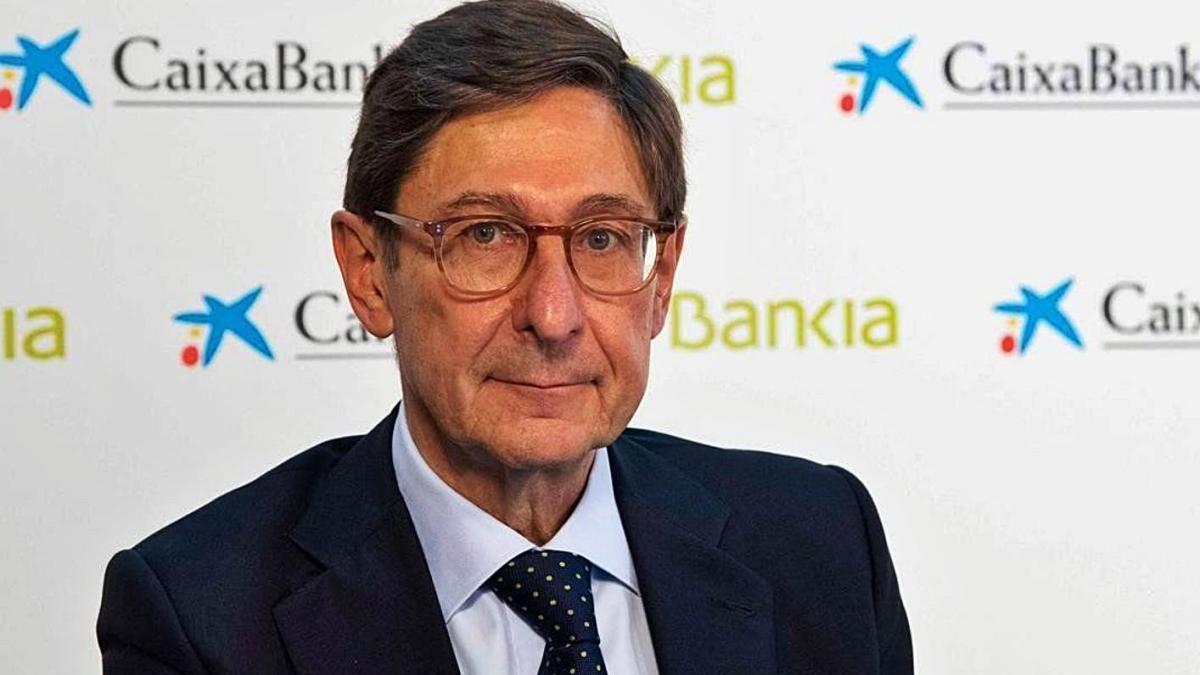 José Ignacio Goirigolzarri, president de Caixabank i expresident de Bankia.