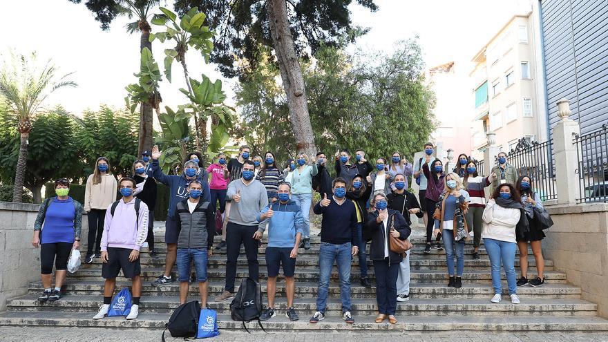 La Diputación activa una jornada con 80 estudiantes internacionales como embajadores de la Costa Blanca