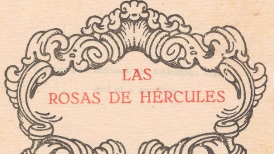 La Casa-Museo Tomás Morales inaugura la exposición 'Somos tipos de libros: Las Rosas de Hércules'