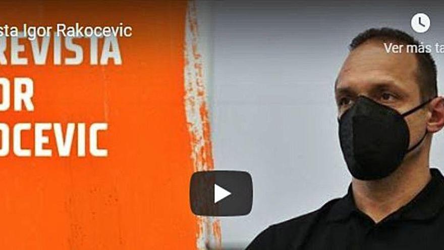 """Rakocevic: """"Si hubiera tenido esto yo no habría salido de L'Alqueria"""""""
