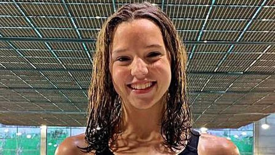 Emma Carrasco, filla d'un manresà olímpic, queda a prop del podi