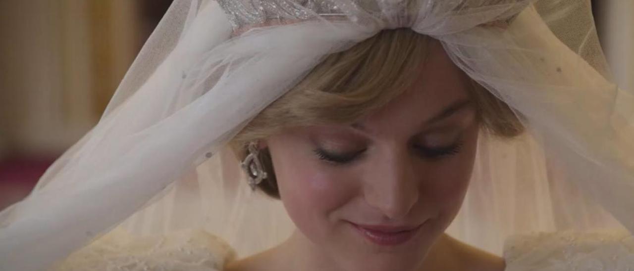 Diana de Gales en la 4ª temporada de 'The Crown'.