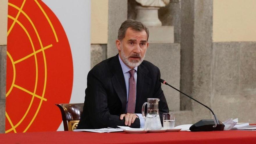 El Rey pide mejorar la cooperación ante la crisis
