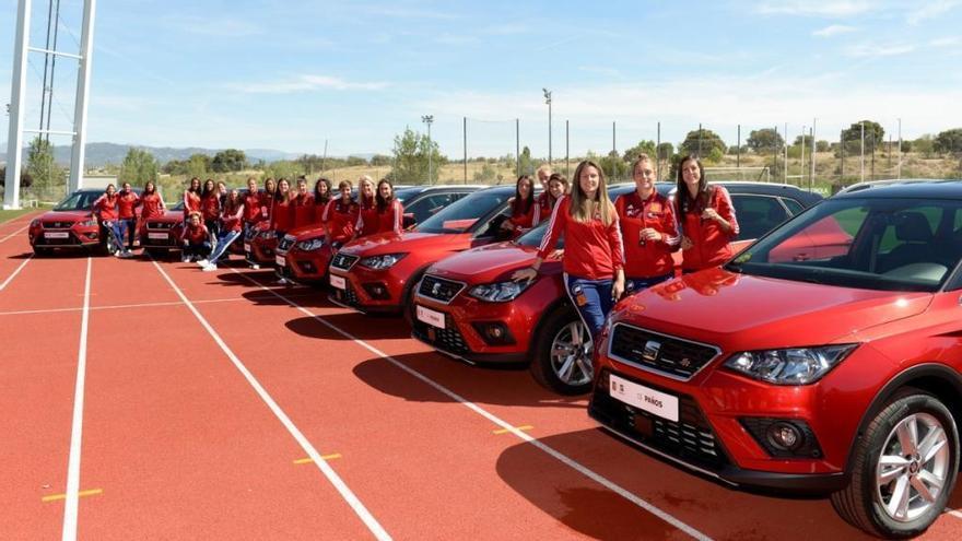 Seat, nuevo vehículo oficial de la Selección Española Femenina de Fútbol