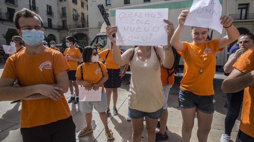Unides Podem crítica el retraso en las obras de los colegios públicos de Alicante