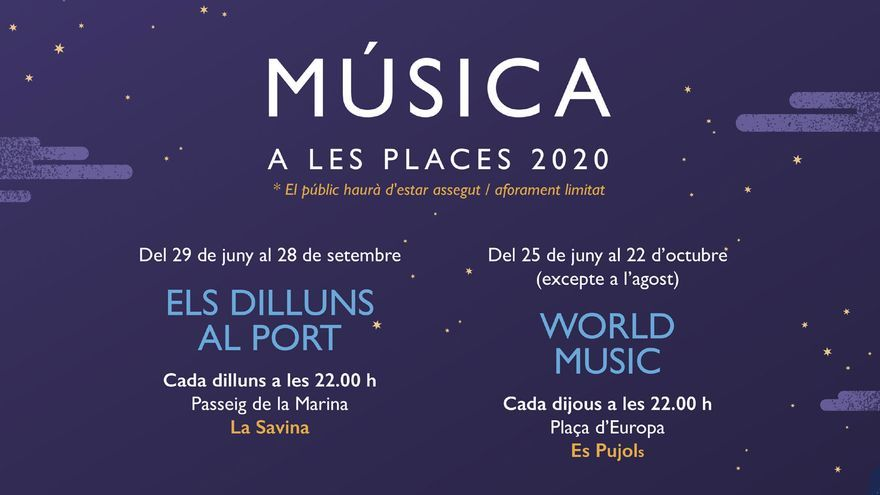 Música a les places 2020: World Music