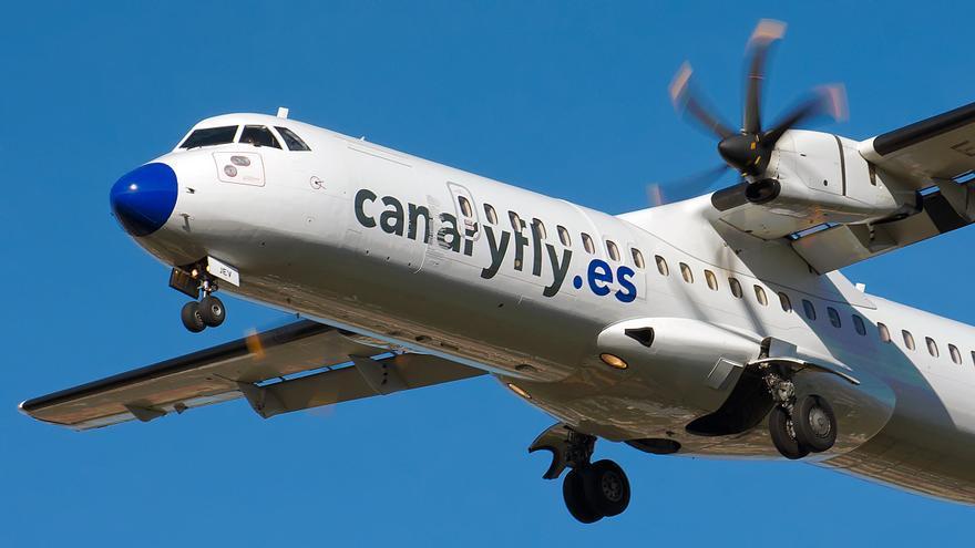 Canaryfly retoma su actividad el 22 de marzo con 34 vuelos diarios