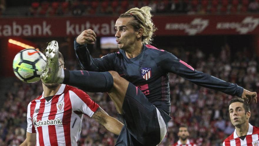 Athletic Club 1-2 Atlético de Madrid: Los de Simeone no conocen la derrota