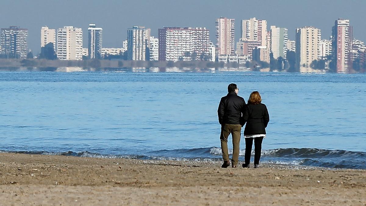 Temperaturas mínimas en los municipios de Valencia, Alicante y Castelló