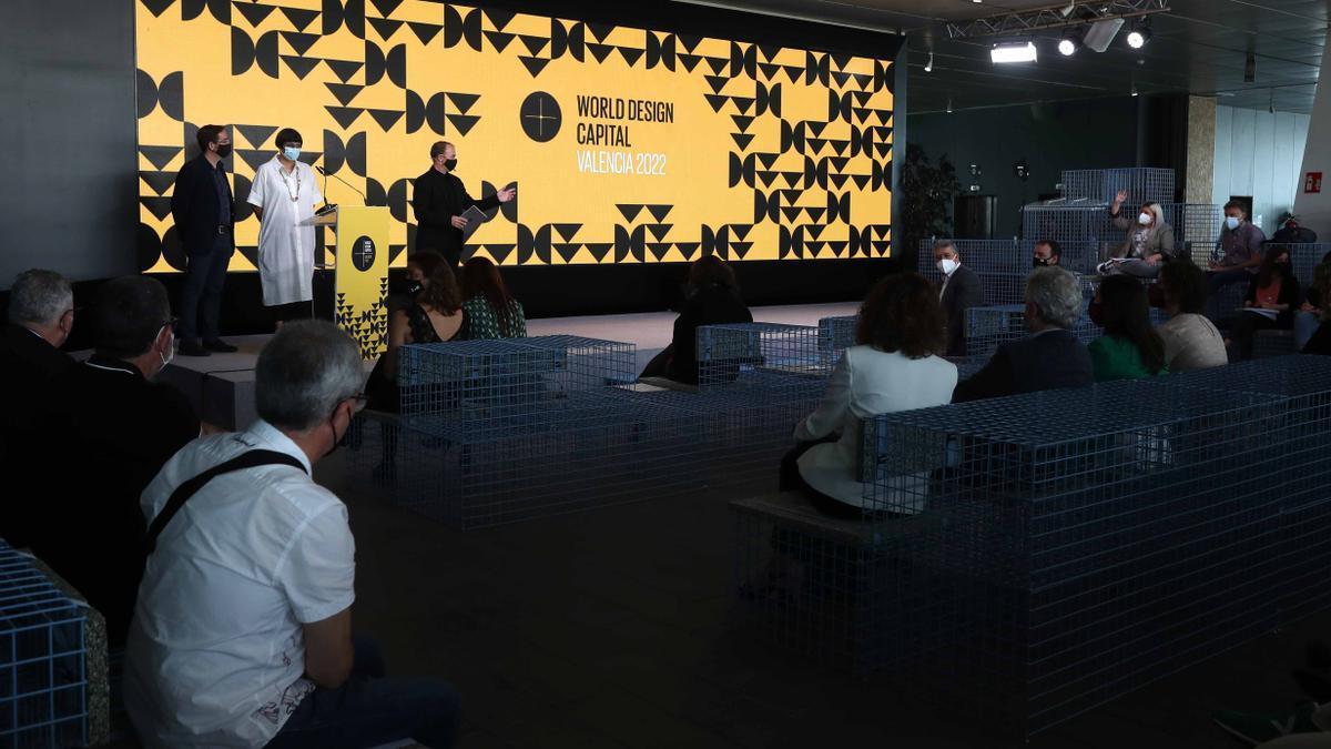 La presentación del programa València Capital Mundial del Diseño 2022.