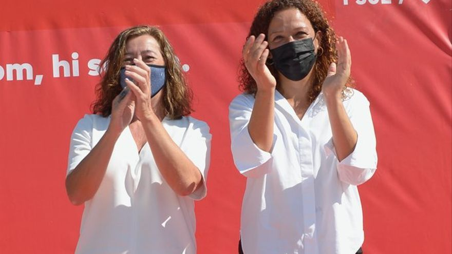 Armengol y Cladera proclamadas secretarias generales socialistas de Balears y Mallorca