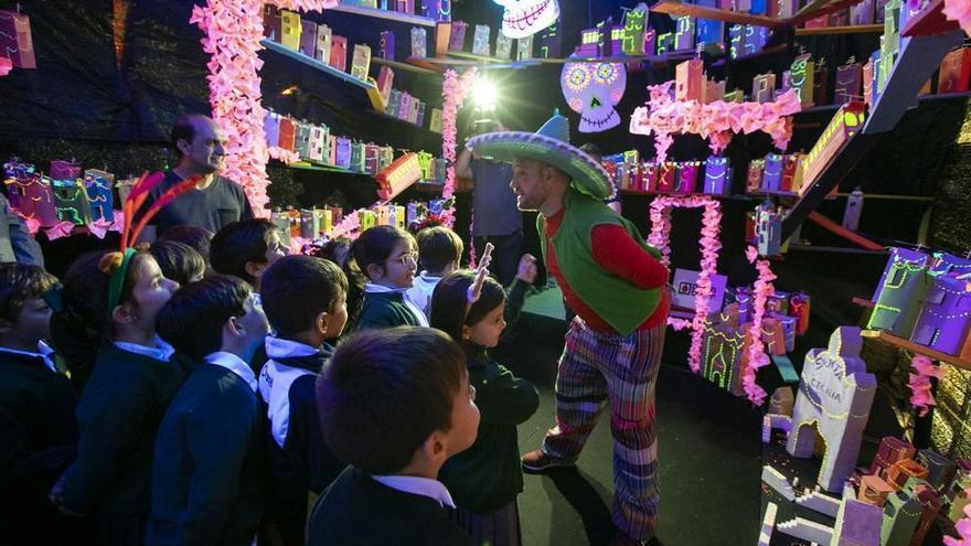 'Coco', 'Ariel' y 'Peter Pan' se trasladan a la Casa de la Navidad
