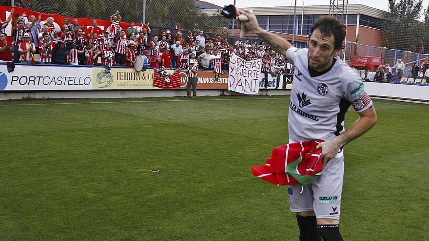 Dani Jiménez se despidió del Zamora en el play off contra el Villarreal B.