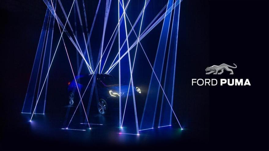 Ford revela la primera imagen del nuevo Puma 2019 con 155 cv