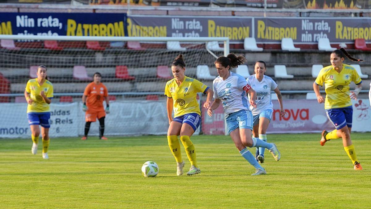 El Arousana se enfrenta al Victoria FC esta jornada.    // NOÉ PARGA