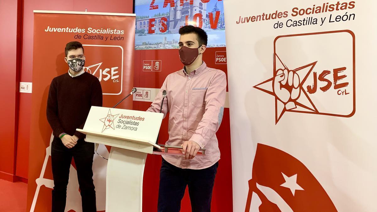 Miembros de Juventudes Socialistas de Zamora