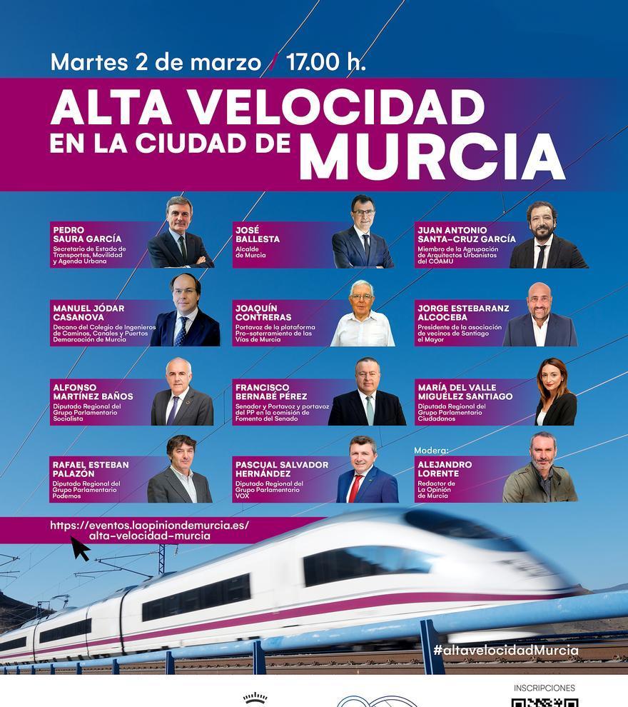 Alta Velocidad en Murcia