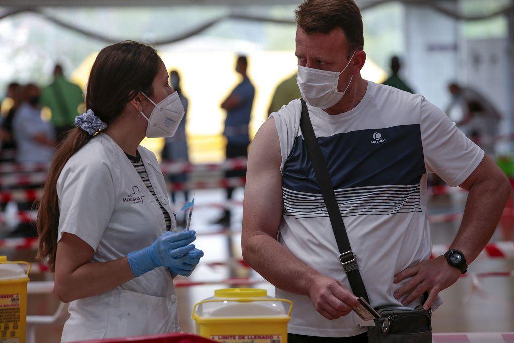 Vacunación del grupo de edad 40-49 en Lorca