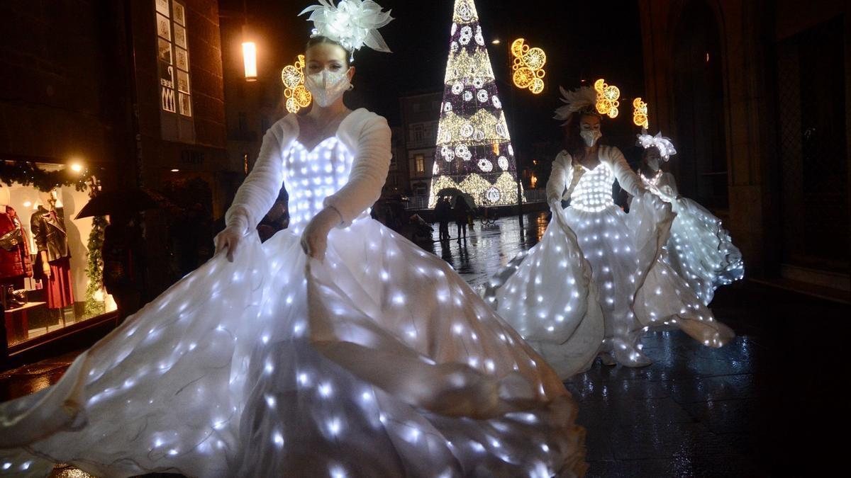 Navidad 2020 en Pontevedra: el color anima la Navidad más gris