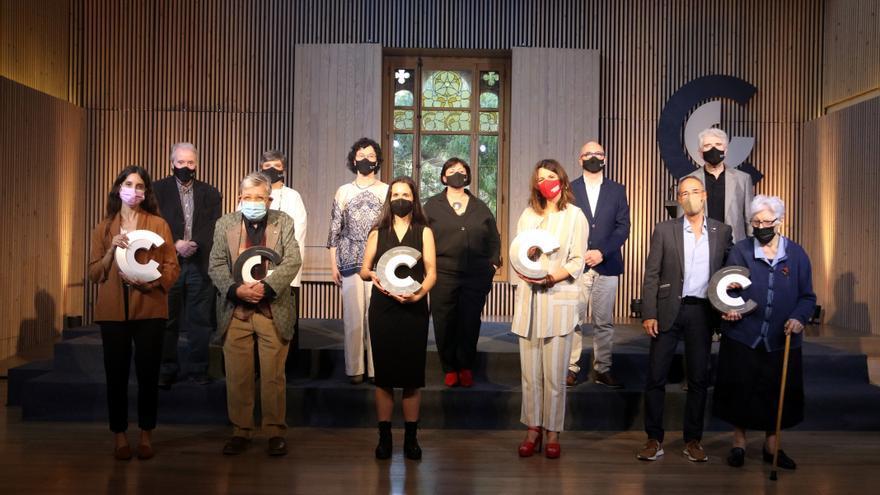 Narcís Comadira, Maria Contreras Coll, Maria Carme Dalmau, Mónica Rikic i Dansàneu, Premis Nacionals de Cultura 2021