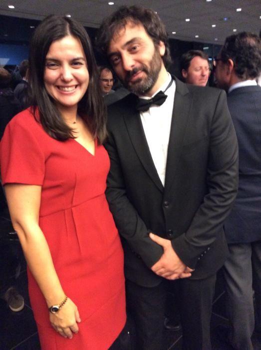 Ana Rocamora, directora de marketing de Benigar y Víctor San Bartolomé, director comercial de INFORMACIÓN