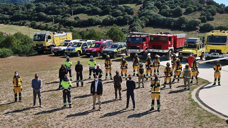 Cincuenta efectivos trabajarán en la campaña de alto riesgo de incendio en Menorca