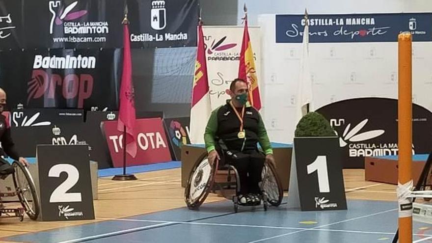 José Guillermo Lama, campeón de España