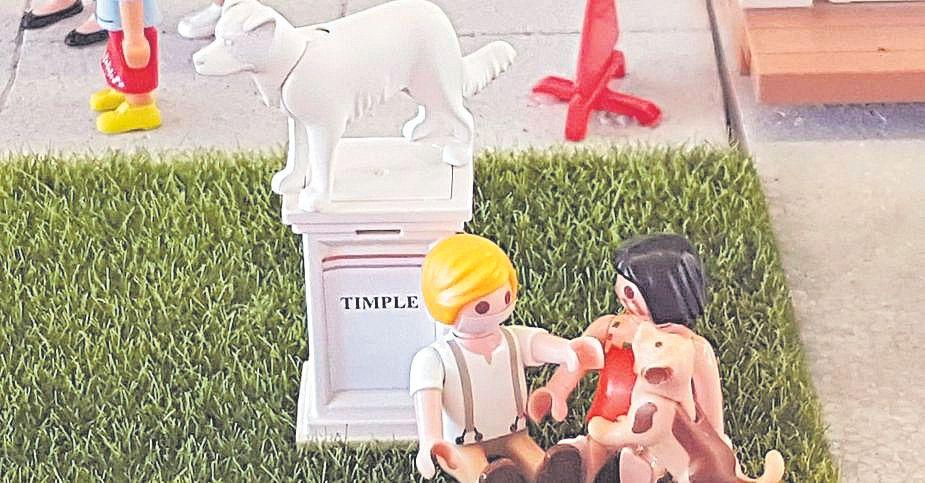 El Mercado de Telde acoge un diorama que representa su actividad económica
