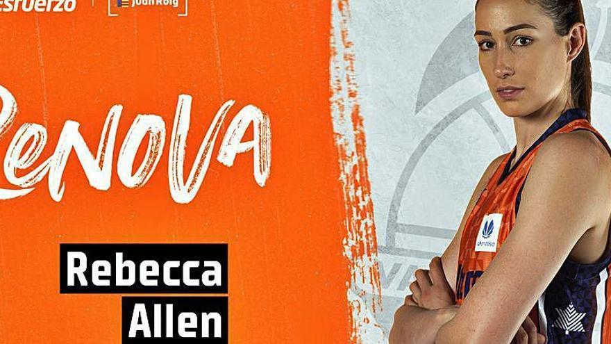 Golpe de efecto en el equipo femenino del Valencia Basket