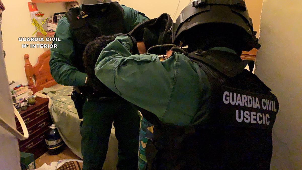 Dos detenidos en la provincia de Cáceres y desarticulado un grupo dedicado al robo en viviendas