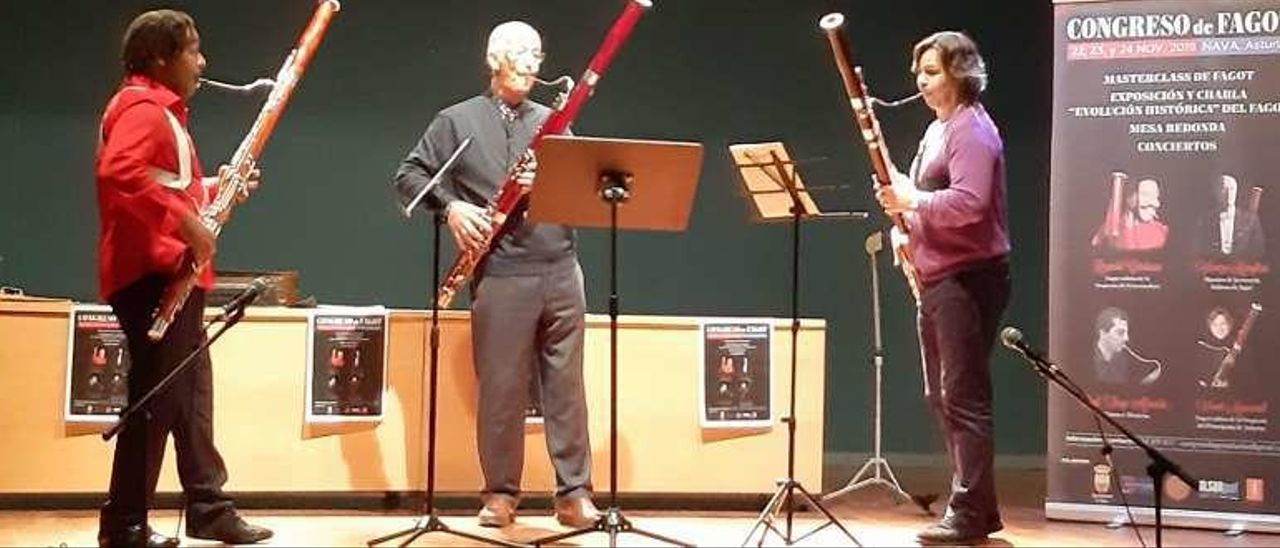 Reynold Cárdenas, Vincenzo Menghini y Vicent Mascarell.