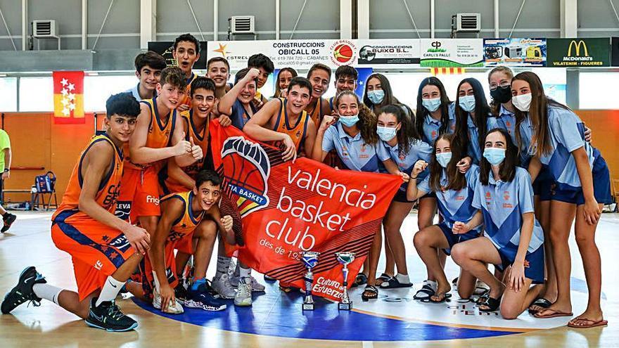 El València es corona en el Torneig Nord infantil