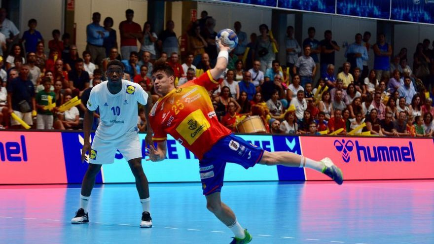 Mundial júnior de balonmano: el España - Francia en fotos