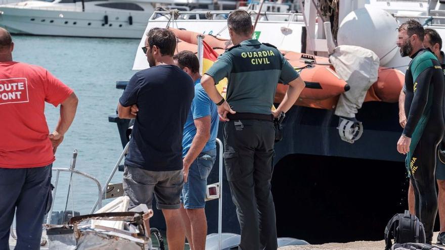 El fallecido en el accidente marítimo en el puerto de Ibiza no resultó decapitado