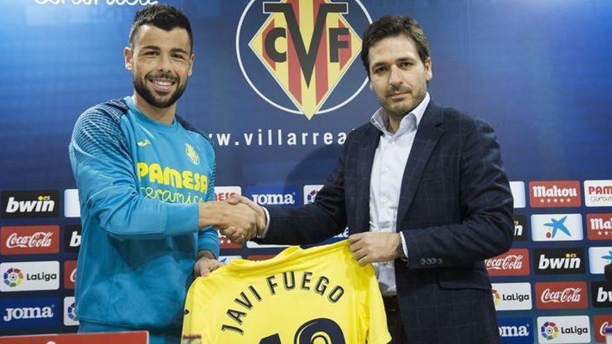 """Javi Fuego: """"El Villarreal me brinda una oportunidad que no podía dejar escapar"""""""