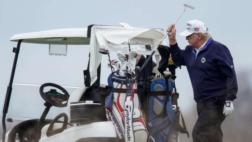 Trump abandona la cimera del G-20 per anar a jugar al golf