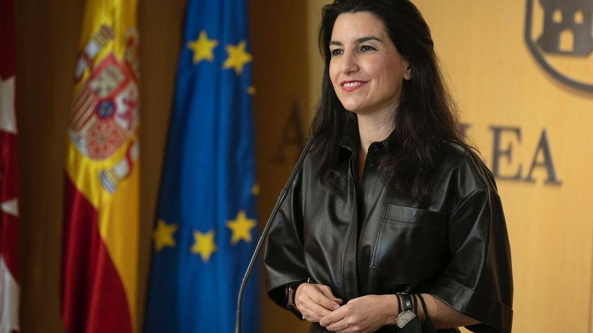 Una imagen de Rocío Monasterio, portavoz de Vox
