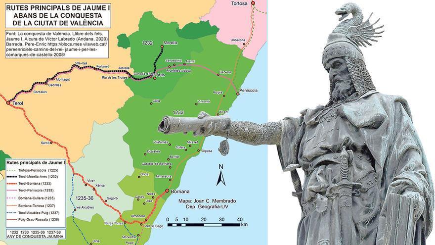 Los caminos de Jaume I por Castellón
