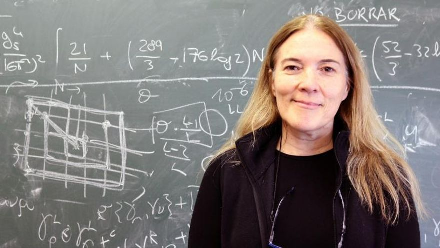 Pilar Hernández entra en el comité científico del mayor centro de investigación de física
