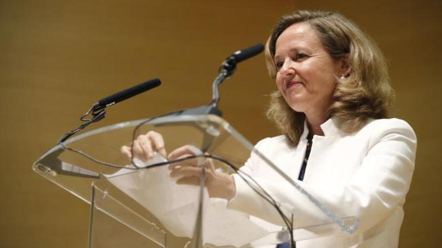 El emocionado discurso de la coruñesa Nadia Calviño al aceptar la cartera del ministerio de Economía
