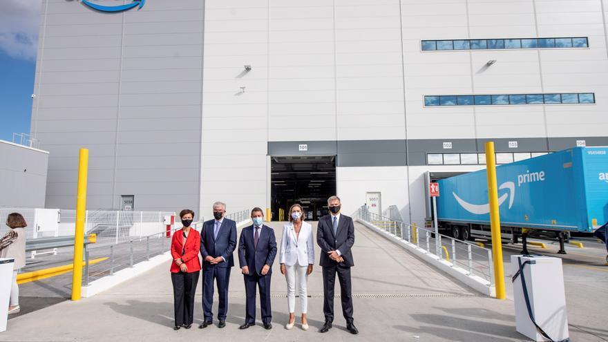 Amazon inaugura su centro de Illescas (Toledo), gemelo del que construye en Siero en tamaño y creación de empleo