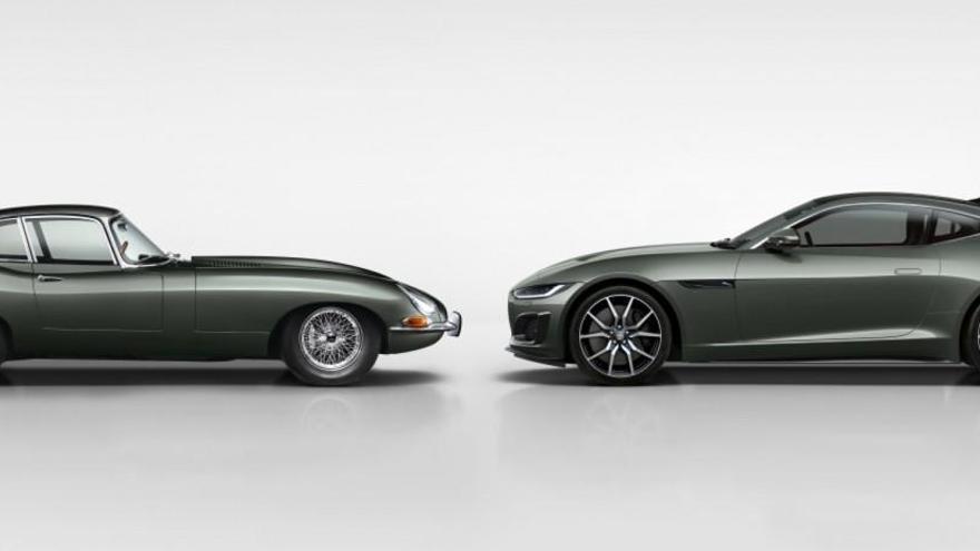 Jaguar F-Type Heritage 60 Edition, un homenaje a los 60 años del mítico E-Type