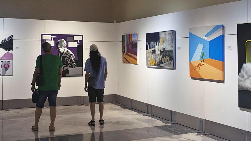 Dos obras seleccionadas en el Juan Francés quedan fuera de la muestra por no llegar a tiempo