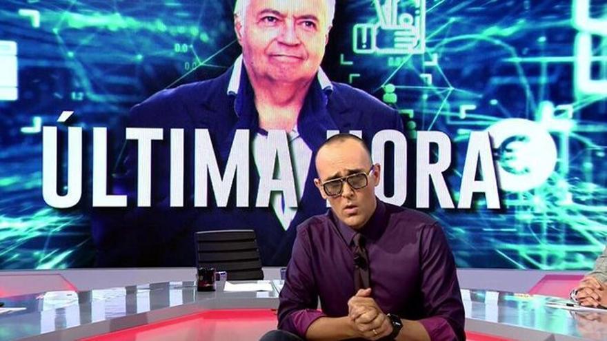 """Risto Mejide a La Palma: """"A los medios, nos dais igual"""""""