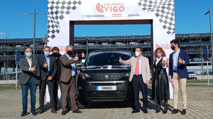 Dangel presenta en Vigo su furgoneta 4x4, de la que hará 1.200 unidades en 2021