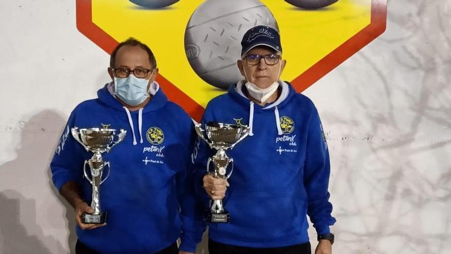 Miguel Darder y José Vidal, veteranos del Turó Punt de Joc
