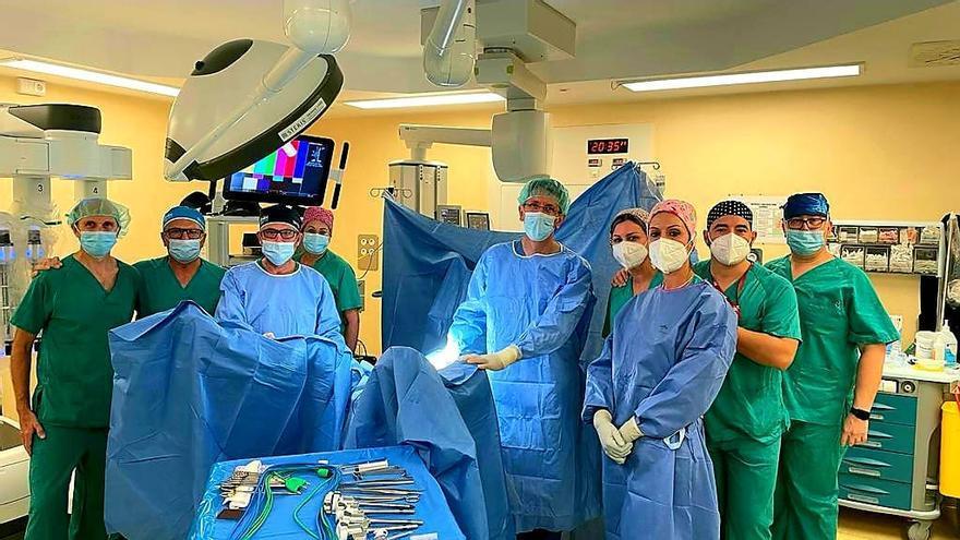 La Arrixaca se estrena en cirugía robótica con el  Da Vinci