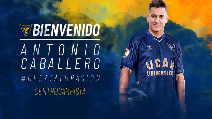 EL UCAM Murcia anuncia el fichaje de Antonio Caballero