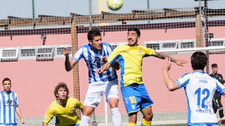 Las Palmas Atlético tumba al colíder en la prolongación